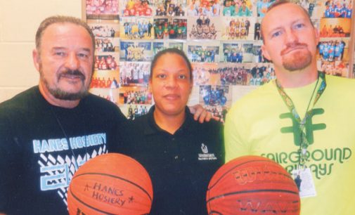 Hanes Hosiery begins Winter Basketball Registration