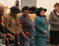 Local church honors veterans and former ushers at program