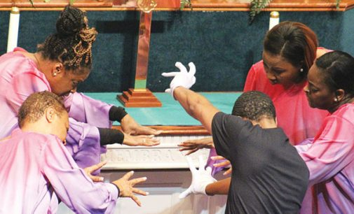 Three local churches unite for Thanksgiving service