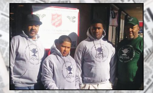 Gentleman's Quorum helps with Red Kettle Drive