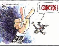 Editorial Cartoon: I concede