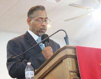 Leach to address emancipation program