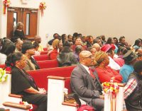 Church celebrates congregation's friends and family at service