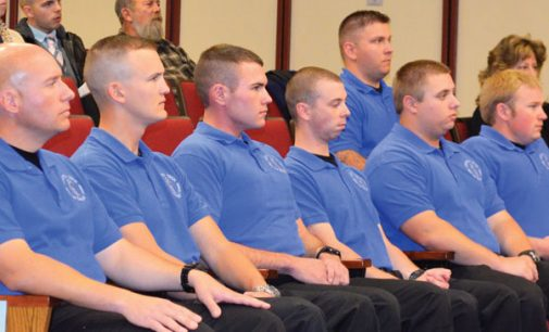Forsyth Tech has smallest police training class ever to graduate
