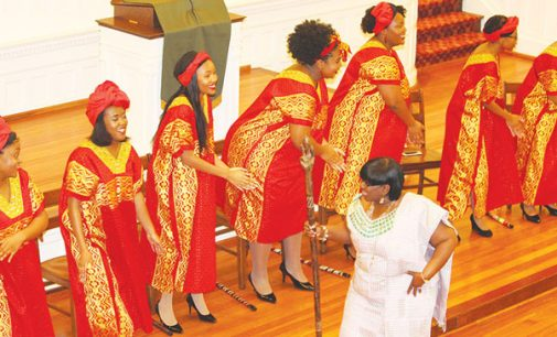 WSSU's Burke Singers, vocalist provide songs of peace and justice