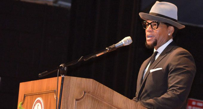 D.L. Hughley talks Donald Trump and Martin Luther King