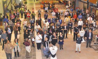 Business mixer draws large crowd