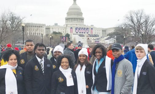 Carver High students attend presidential inauguration