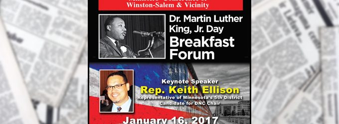 The Chronicle's 2017 Dr. Martin Luther King Jr. Day  Breakfast Forum is now booked to capacity!