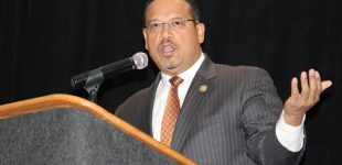 Ellison to MLK crowd: 'Be encouraged'