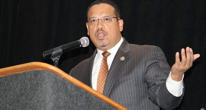 Ellison to MLK crowd: 'Be encouraged'