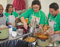 AKAs serve hundreds after Noon Hour service