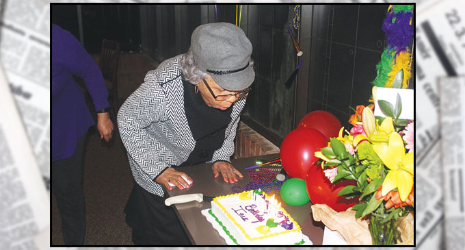 Church Member Gets Surprise For 95th Birthday