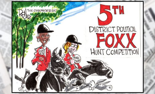 Political Cartoon: Foxx Hunt