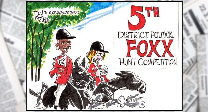 Political Cartoon: Foxx Hunt
