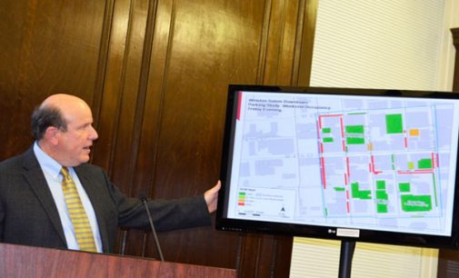 City study looks at downtown parking