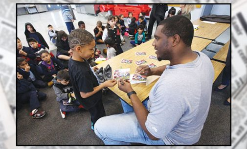 W-S native, NFL star Chris Hairston gives back to community