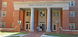 Wake Forest honors Angelou with residence hall