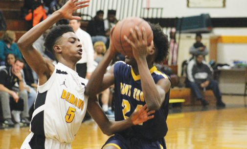 Reynolds' boys JV basketball team wins conference