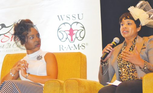 WSSU uses classy hat affair to celebrate girls and women in sports, raise funds
