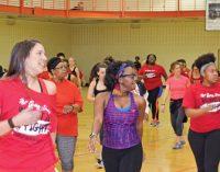 Zumba, health fair help kick off Heart Month
