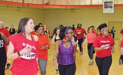 Zumba, health fair help kick off Heart Month