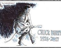 Editorial Cartoon: Chuck Berry