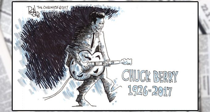 Editorial Cartoon: Chuck Berry