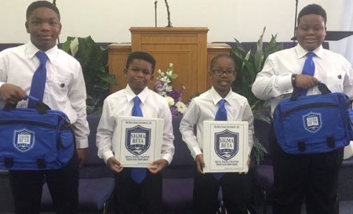Sigma Beta Club inducts four new members