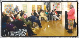 Women's Day event centers on struggles