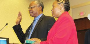 El-Amin sworn in as county commissioner