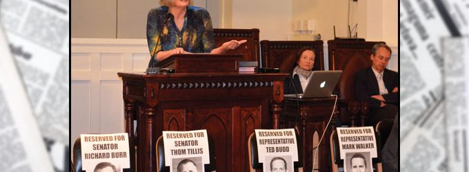 Refugees, health care and hacking discussed at town hall