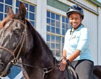Nonprofit offers free horseback riding lessons