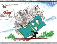 Editorial Cartoon: HB2
