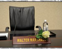 Who will succeed Walter Marshall?