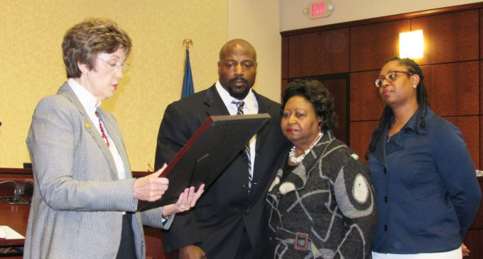 Walter Marshall honored by county, state