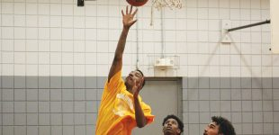 Teen basketball league heats up