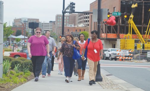 W-S marks National Walking Day