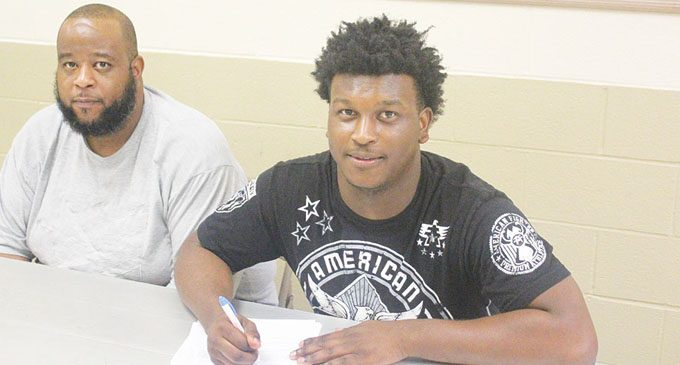 Carver alum signs letter of intent to play for Fayetteville State