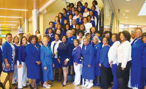 Sorority sponsors the 2017 Triad Finer Womanhood