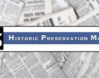 Many events planned for May: Historic Preservation