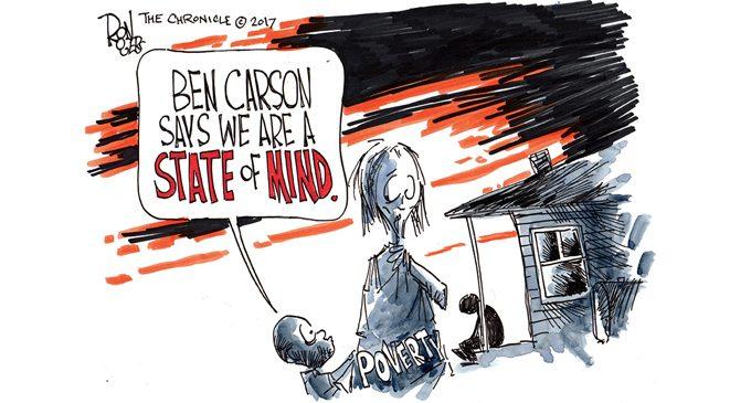 Editorial Cartoon: State of Mind