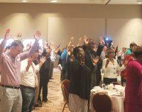 Prayer breakfast brings diverse crowd
