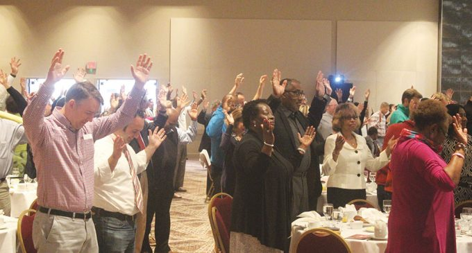 Prayer breakfast brings diverse crowd