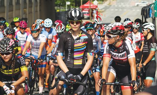 'Fitness fan' starts city bicycle race
