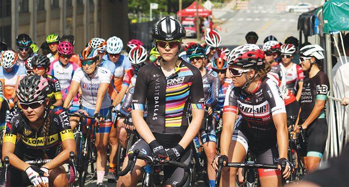 'Fitness fan' starts city bicycle race