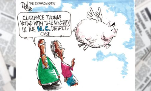 Editorial Cartoon: Pigs Fly!