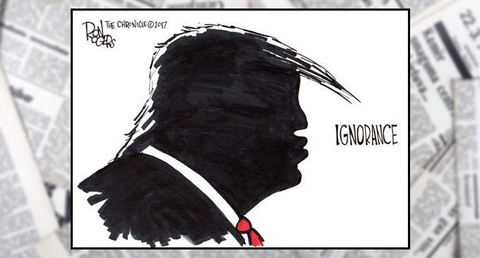 Editorial Cartoon: Ignorance