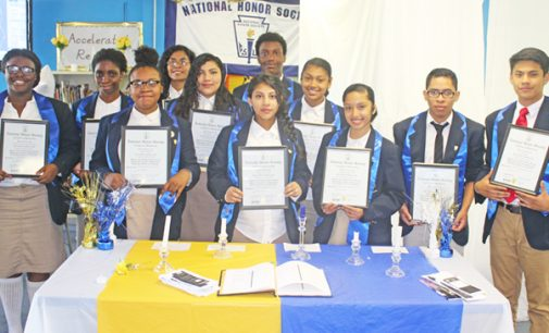 Ministerial leader encourages Honors Society inductees
