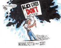 Editorial Cartoon: Lives matter?